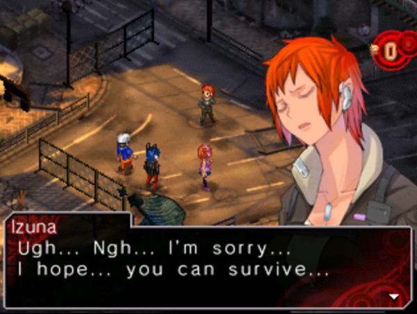 Je suis incapable de vous dire si cette capture d'écran provient de la version DS ou 3DS !