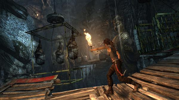 Visuellement, Tomb Raider reste très probant !
