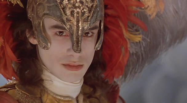 Capture d'écran du film Farinelli de George Corbieau, 1994. Césars du meilleur son et du meilleur décor.