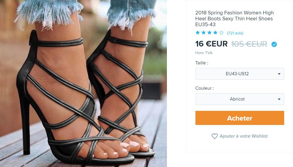 Chaussures Wish
