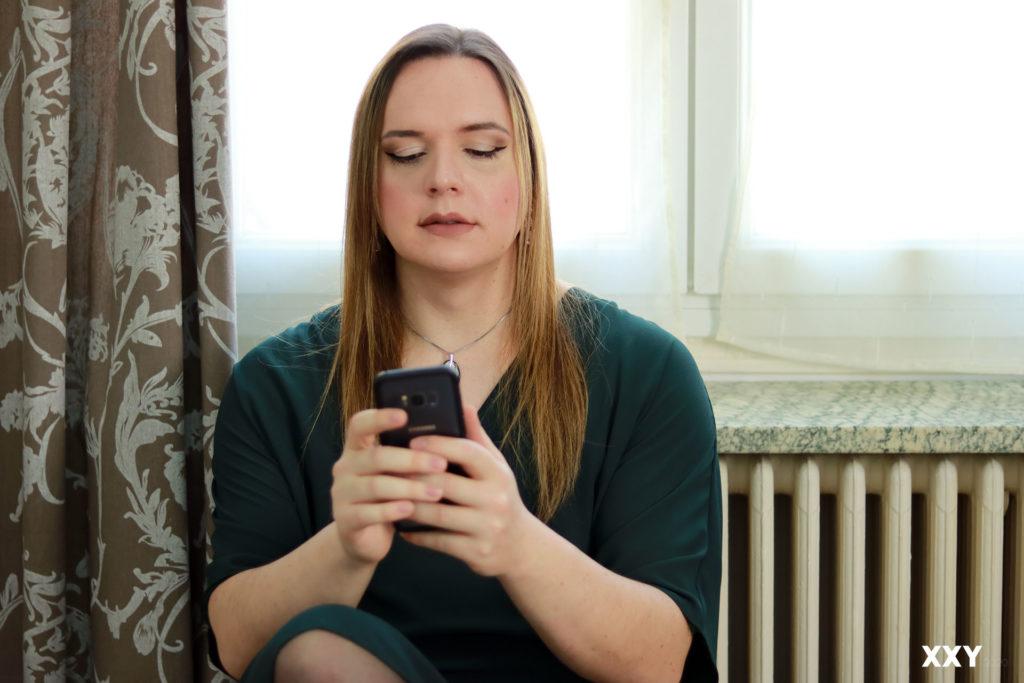 Andromède Travesti - Smartphone