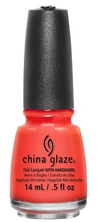 China Glaze orange