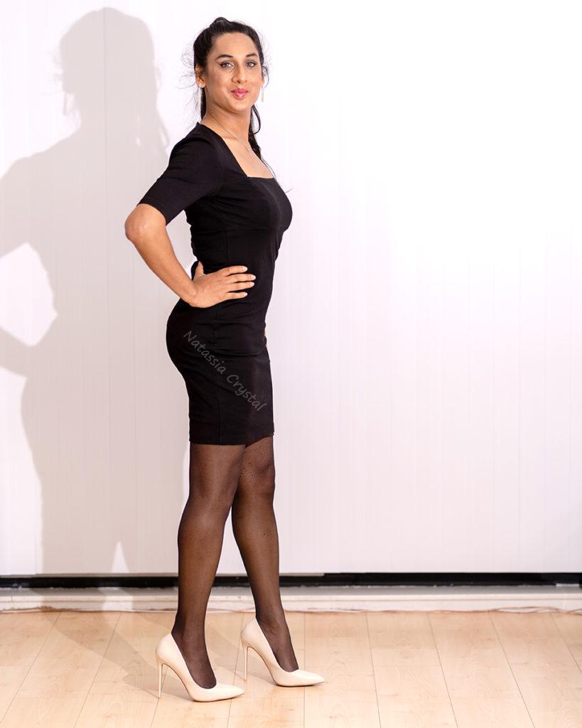 Natassia Crystal (petite robe noire)